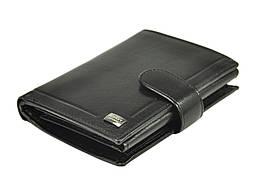 Чоловічий шкіряний гаманець Rovicky PC-027L-BAR RFID Чорний, фото 2