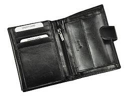 Чоловічий шкіряний гаманець Rovicky PC-027L-BAR RFID Чорний, фото 3