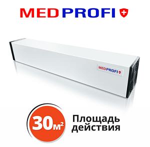 Бактерицидный рециркулятор воздуха MEDPROFI 15 Вт  настенный  Облучатель-рециркулятор бактерицидныый до 30м2