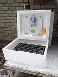 Инкубатор Несушка 220\12в на 104 яйца с автоматическим переворотом яиц с резервным питанием и цифровым термор., фото 2