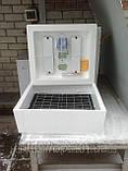 Инкубатор Несушка 220\12в на 104 яйца с автоматическим переворотом яиц с резервным питанием и цифровым термор., фото 3