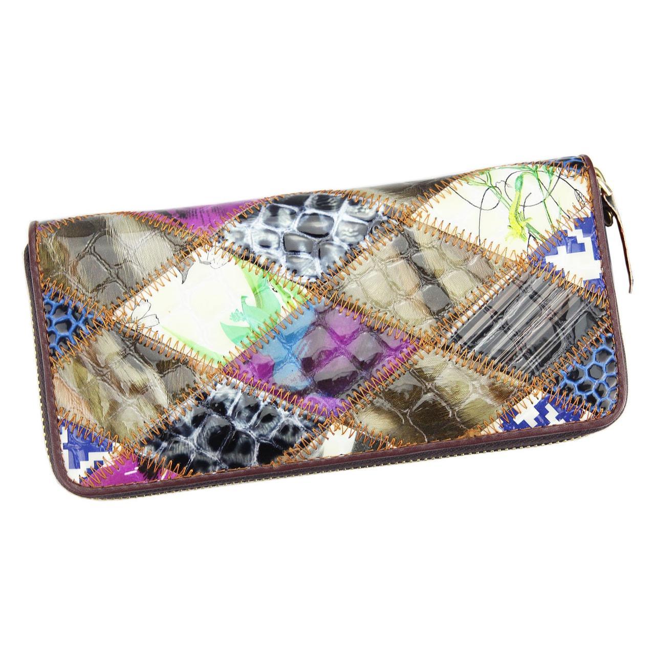 Жіночий шкіряний гаманець Giorgio PVV 9008 Кольоровий