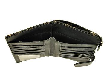 Женский кошелек из экокожи ES8832 Коричневый, фото 2