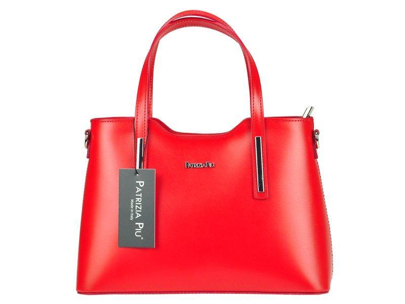 Женская кожаная сумка Patrizia Piu 22-005 Красный