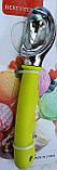Ложка для морозива з силіконовою ручкою, фото 2