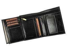 Чоловічий шкіряний гаманець Wild RM-06-BAW BUFFALO Чорний, фото 3