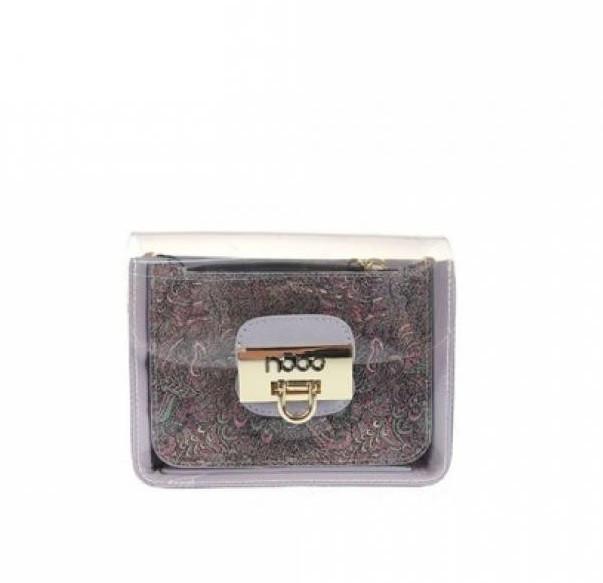 Жіноча сумка з екошкіри Nobo P NOB 3751 19WL Фіолетовий