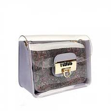 Жіноча сумка з екошкіри Nobo P NOB 3751 19WL Фіолетовий, фото 3