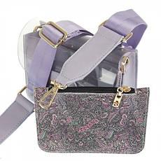 Жіноча сумка з екошкіри Nobo P NOB 3751 19WL Фіолетовий, фото 2