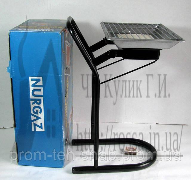 Горелка инфракрасного излучения с подставкой Nurgaz NG-310 (3 кВт)
