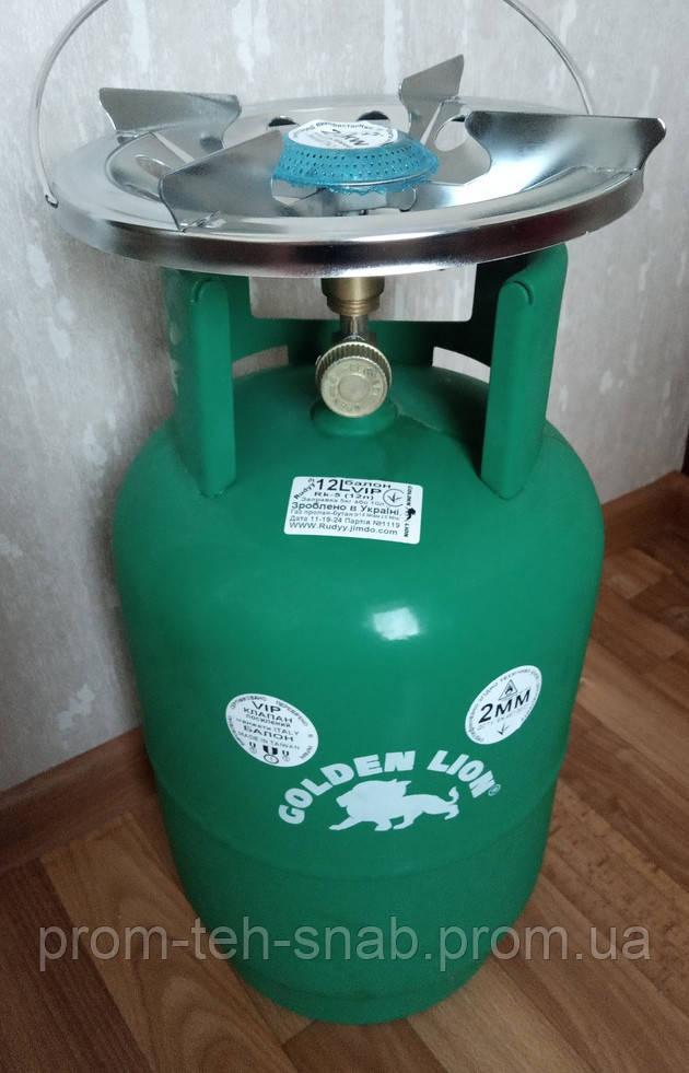 """Газовый комплект """"RUDDY VIP"""" RK-5 на 12 литров"""