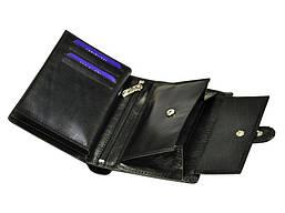 Чоловічий шкіряний гаманець Cefirutti 7680278-5 Чорний, фото 3