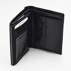 Чоловічий шкіряний гаманець Wild N4-VTK Чорний, фото 3