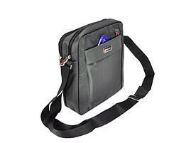 Чоловіча сумка Bag Street 2362 Темно-сірий, фото 3