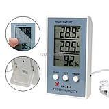 Вологомір-термометр цифровий CX-201A, фото 2