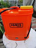 """Електричний ранцевий обприскувач """"IGNIS""""-12 літрів, фото 2"""