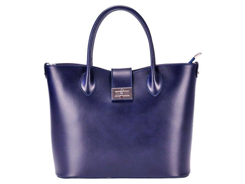 Женская кожаная сумка Luka 139 Темно-синий