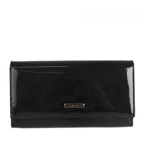 Жіночий шкіряний гаманець Lorenti V-76111-RS Чорний, фото 2