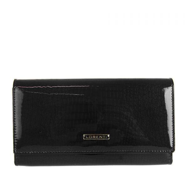 Жіночий шкіряний гаманець Lorenti V-76111-RS Чорний