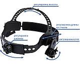 Сварочная маска VITA Optech S777C арт дизайн, фото 3