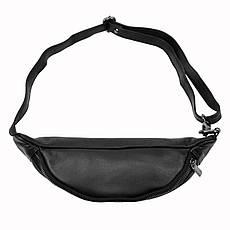 Чоловіча шкіряна сумка Wild 106-NDM Чорний, фото 2