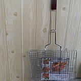 Решетка гриль 27х35 плоская, фото 2