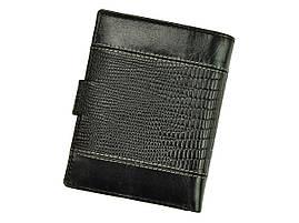 Чоловічий шкіряний гаманець BUFFALO Wild N4L-VTC RFID Чорний, фото 3
