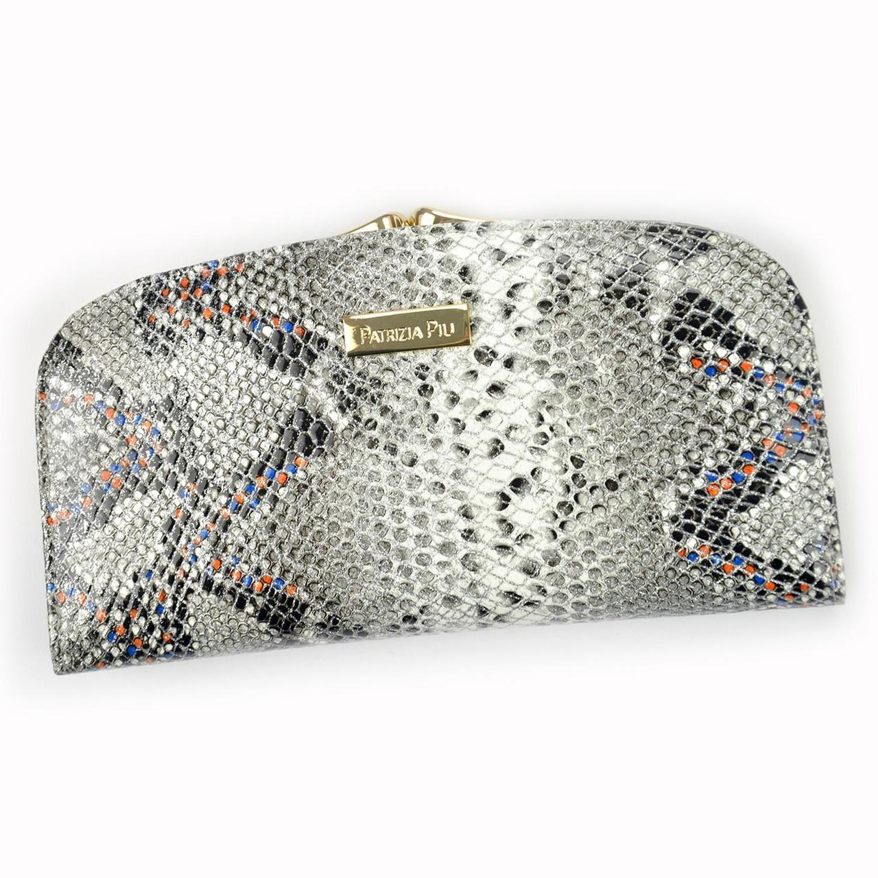 Женский кожаный кошелек Patrizia Piu SN-123 RFID Светло-серый