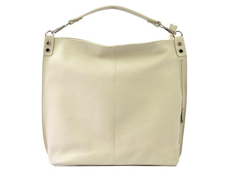 Жіноча шкіряна сумка Patrizia Piu 318-007 Бежевий