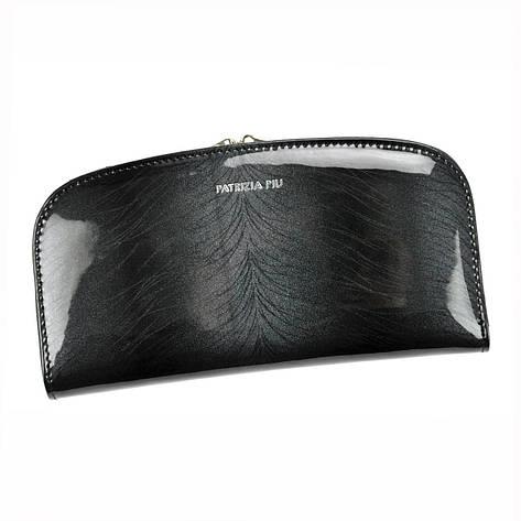 Жіночий шкіряний гаманець Patrizia Piu FF-123 RFID Темно-сірий, фото 2