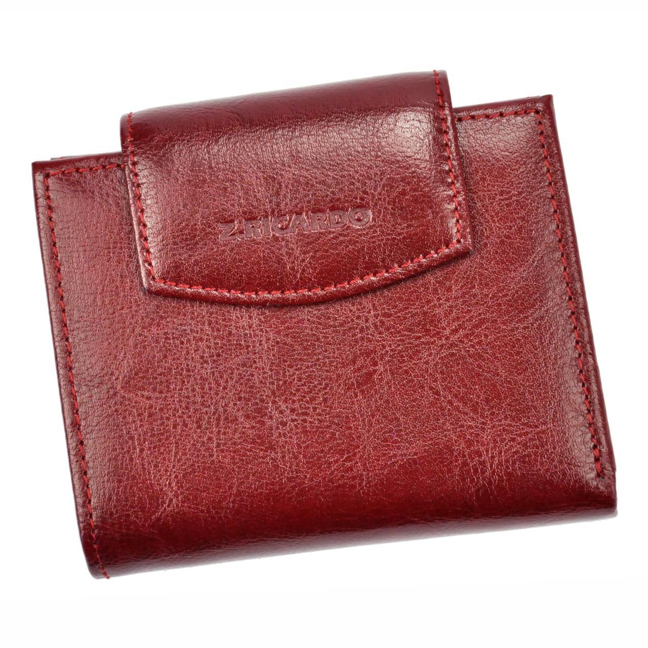 Жіночий шкіряний гаманець Z. Ricardo 018 Бордовий