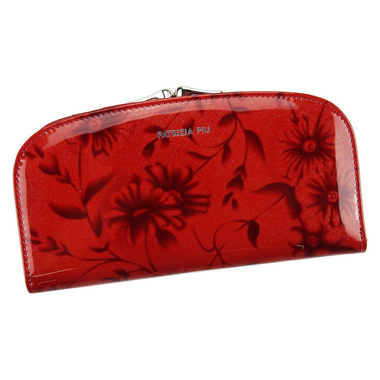 Женский кожаный кошелек Patrizia Piu FL-123 RFID Красный