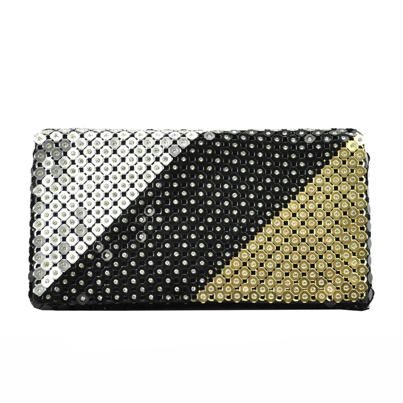 Женская сумка из экокожи Jessica 333-1 Черный