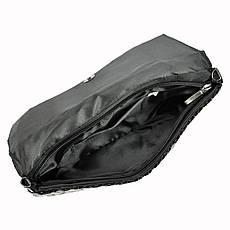 Женская сумка из экокожи Jessica 333-1 Черный, фото 2