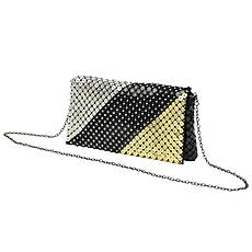 Женская сумка из экокожи Jessica 333-1 Черный, фото 3