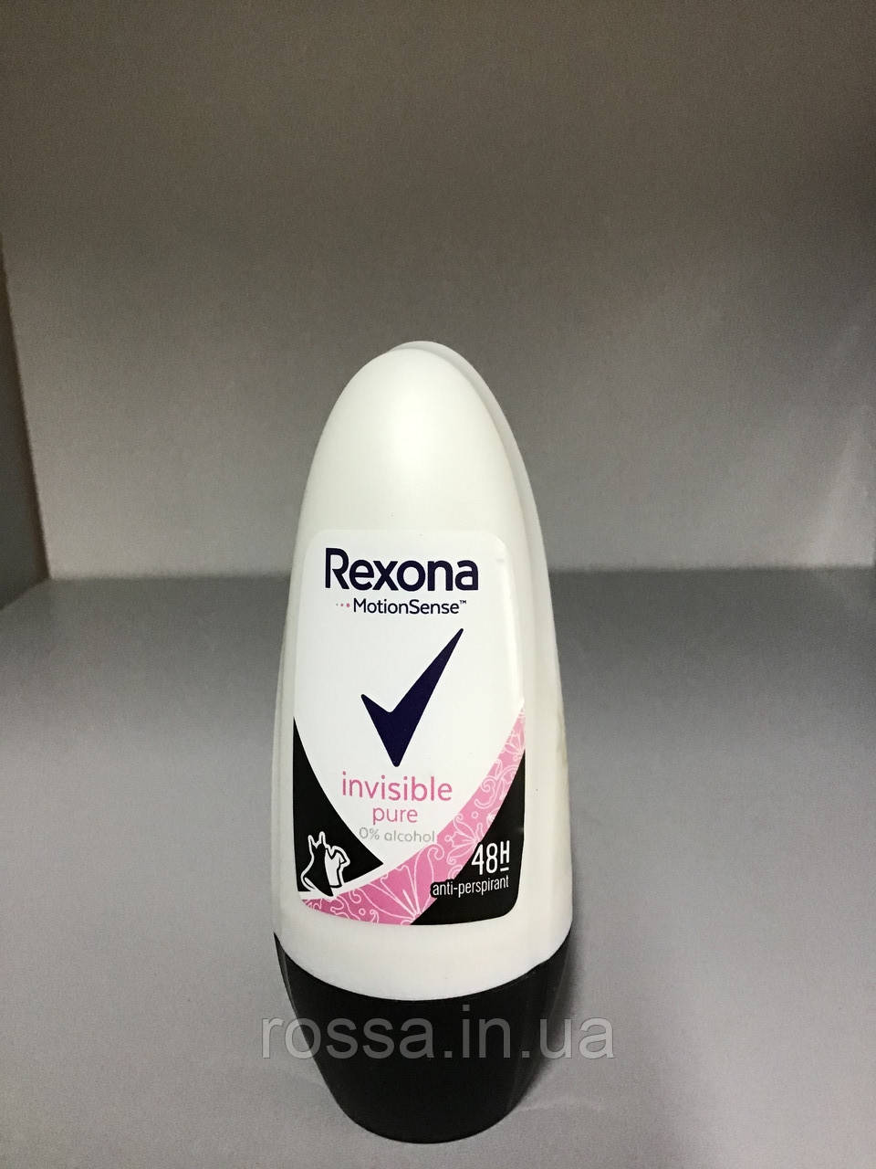Дезодорант женский Rexona шариковый Motionsense invisible pure 50 мл