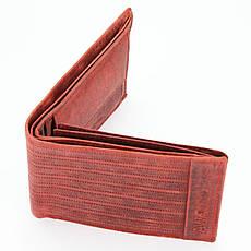Мужской кожаный кошелек Wild N992-BPU-1 Красный, фото 3