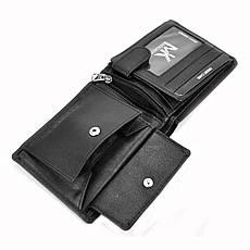 Чоловічий шкіряний гаманець Money Kepper CC 5130 Чорний, фото 3