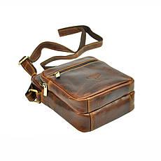 Чоловіча шкіряна сумка BUFFALO Wild TB-011-COM Коньяк, фото 2