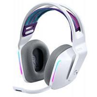 Навушники Logitech G733 Lightspeed Wireless RGB Gaming Headset White (981-000883)