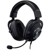 Навушники Logitech G PRO X Gaming Headset BLACK USB (981-000818)