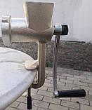 Мясорубка ручная чугунная г. Полтава, фото 8