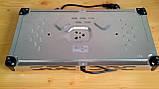 Електроплита МРіЯ ПЕН-2Д 2х конфорочна (диски,млинці) нержавіюча сталь, фото 7