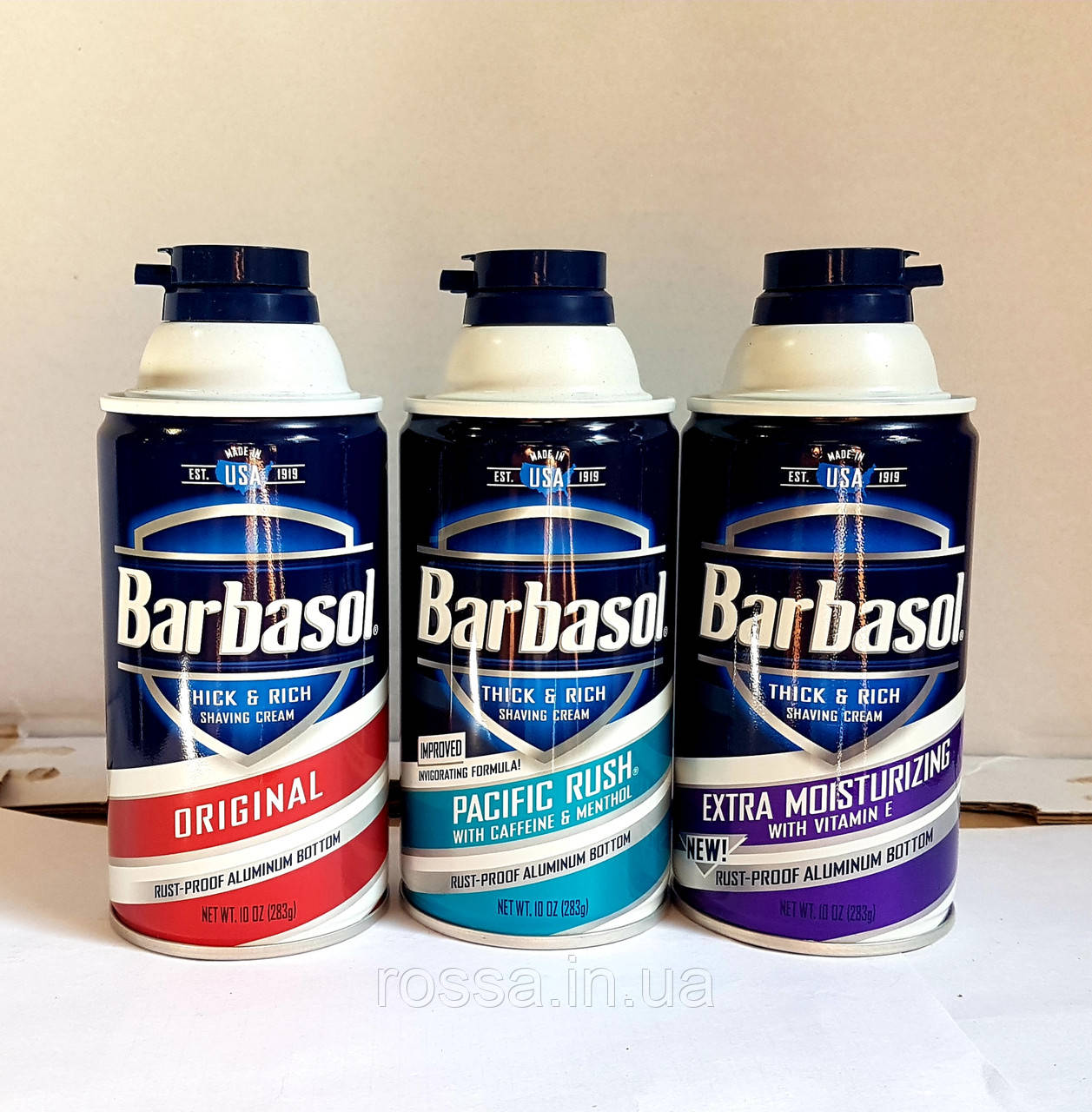 Barbasol  Men Пена для бритья