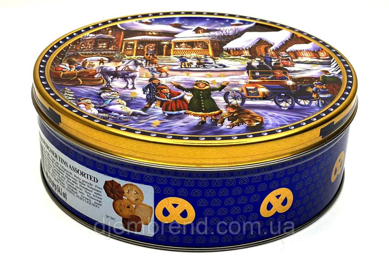 Песочное печенье Designer Tins Assorted Jacobsens Bakery Ltd., 400 г