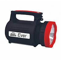 Ліхтарик 5W+22SMD USB вихід акумулятор 4400mAh EVER RIGHT HAUSEN