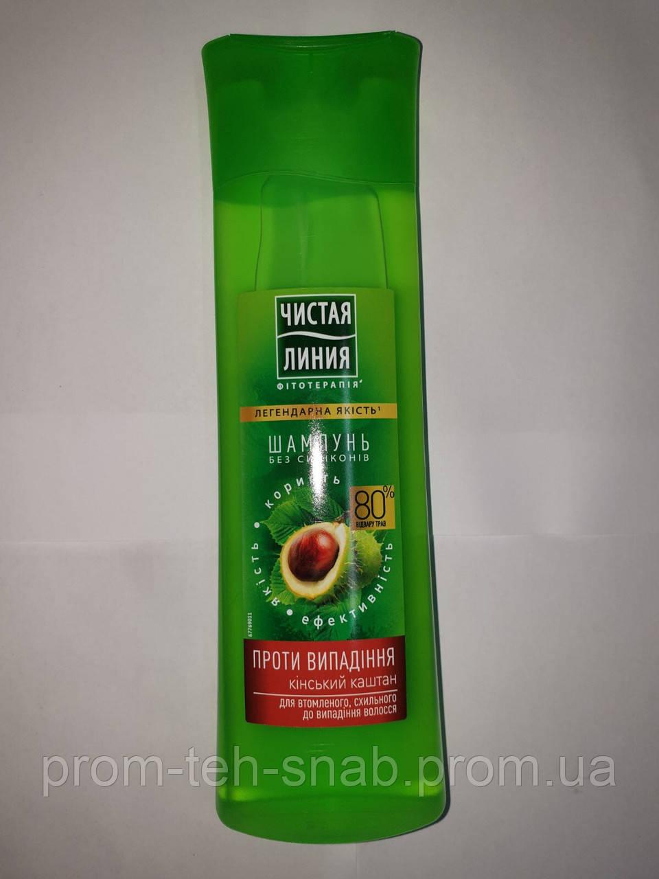 Шампуні для волосся Чиста Лінія Проти випадіння 400мл