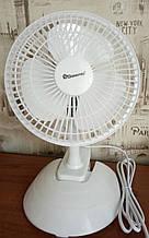 Вентилятор настольный Domotec MS-1623 (на прищепке)