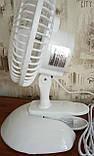 Вентилятор настольный Domotec MS-1623 (на прищепке), фото 2