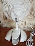 Вентилятор настольный Domotec MS-1623 (на прищепке), фото 3
